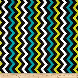 Michael Miller Shi-Shi Chevron Mermaid