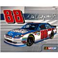 Dale Earnhardt Jr Fleece National Guard Car Panel Multi/Grey
