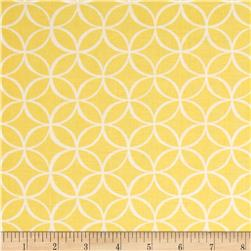 Michael Miller Tile Pile Canary Fabric