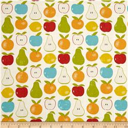 Moda Garden Project Mixed Fruit Cloud Fabric