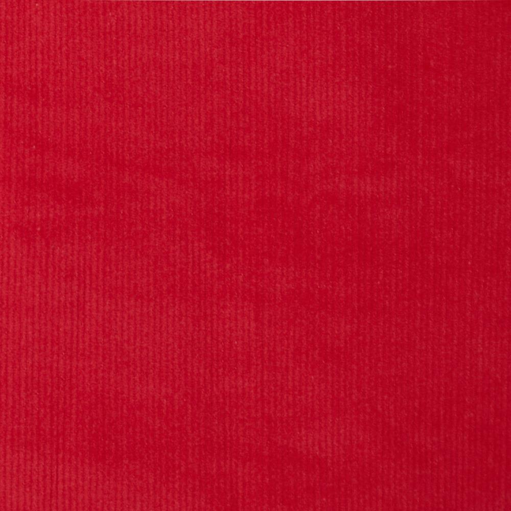 Kaufman stretch 21 wale corduroy red discount designer for Corduroy fabric