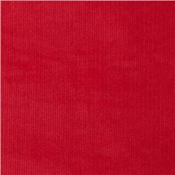 Kaufman Stretch 21 Wale Corduroy Red Fabric