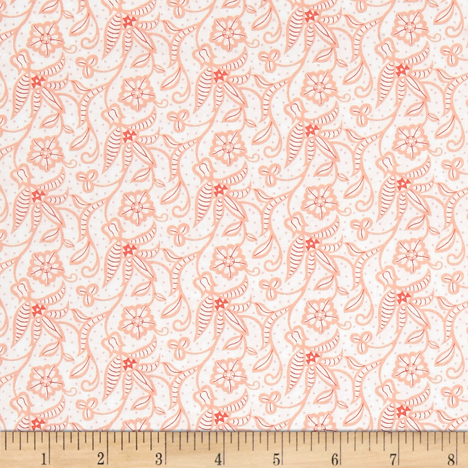 INOpets.com Anything for Pets Parents & Their Pets Sewing Room Whitework Light Pink Fabric