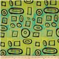 Graffetti Shapes Green