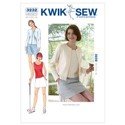 Kwik Sew Skort, Top & Cardigan Pattern