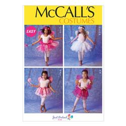 McCall's Children's/Girls' Costumes Pattern M6906 Size CDD