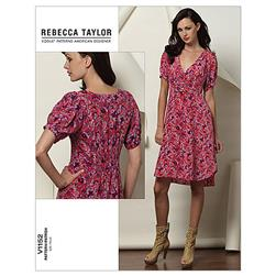 Vogue Misses' Dress Pattern V1152 Size BB0