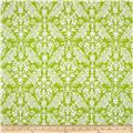 Riley Blake Medium Damask Lime
