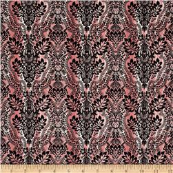 Bella Ikat Pink/Black