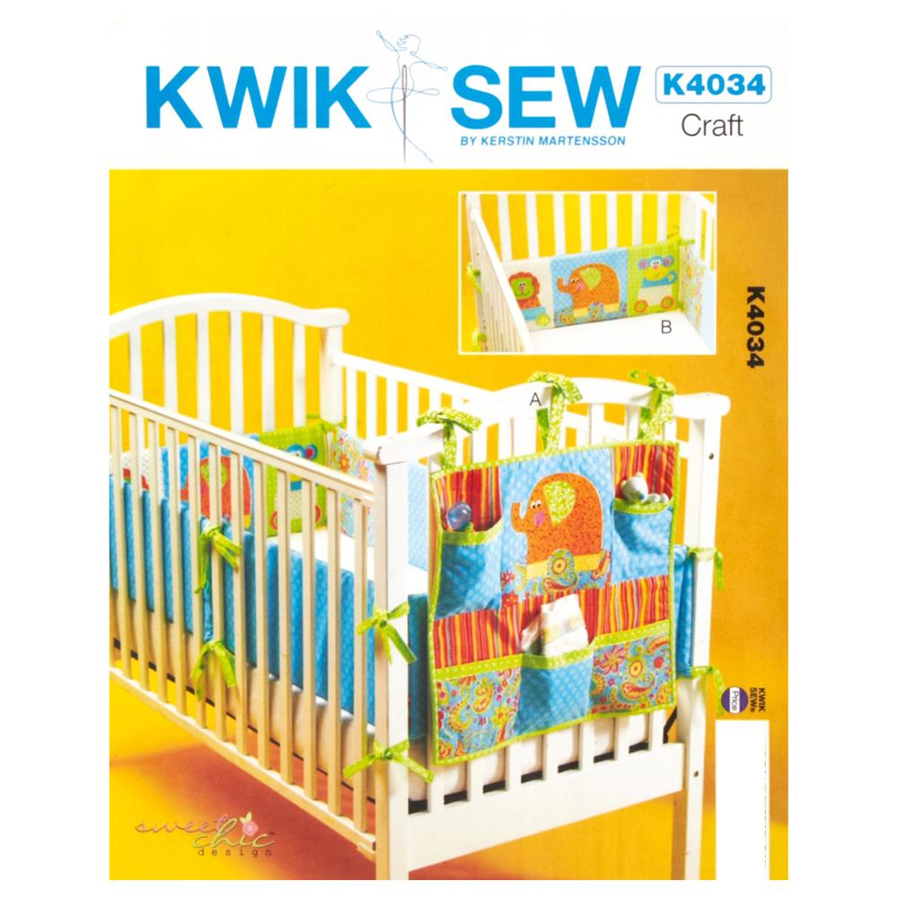 Kwik Sew Organizer And Crib Bumper Pattern Discount