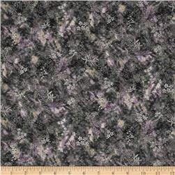 Serene Garden Metallic Foliage Purple