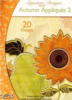 OESD Machine Embroidery CD Autumn Appliques