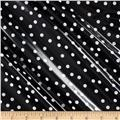 Riley Blake Parisian Laminate Dot Black