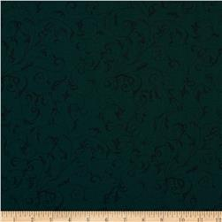 "110"" Wide Quilt Back Filigree Teal"