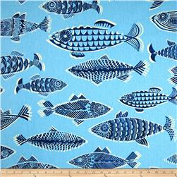 Tommy Bahama Home Fishful Thinking Riptide Fabric