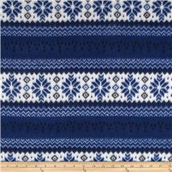 Fleece Nordic Striped Blue