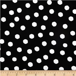 Loralie Fast Women Jumbo Dots Black/White