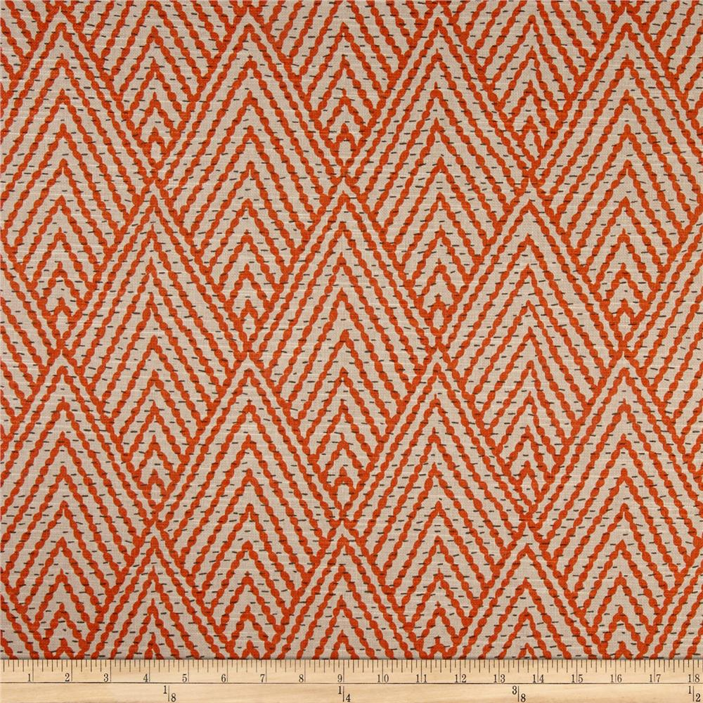 Lacefield tahitian stitch tangerine discount designer for Fabric purchase