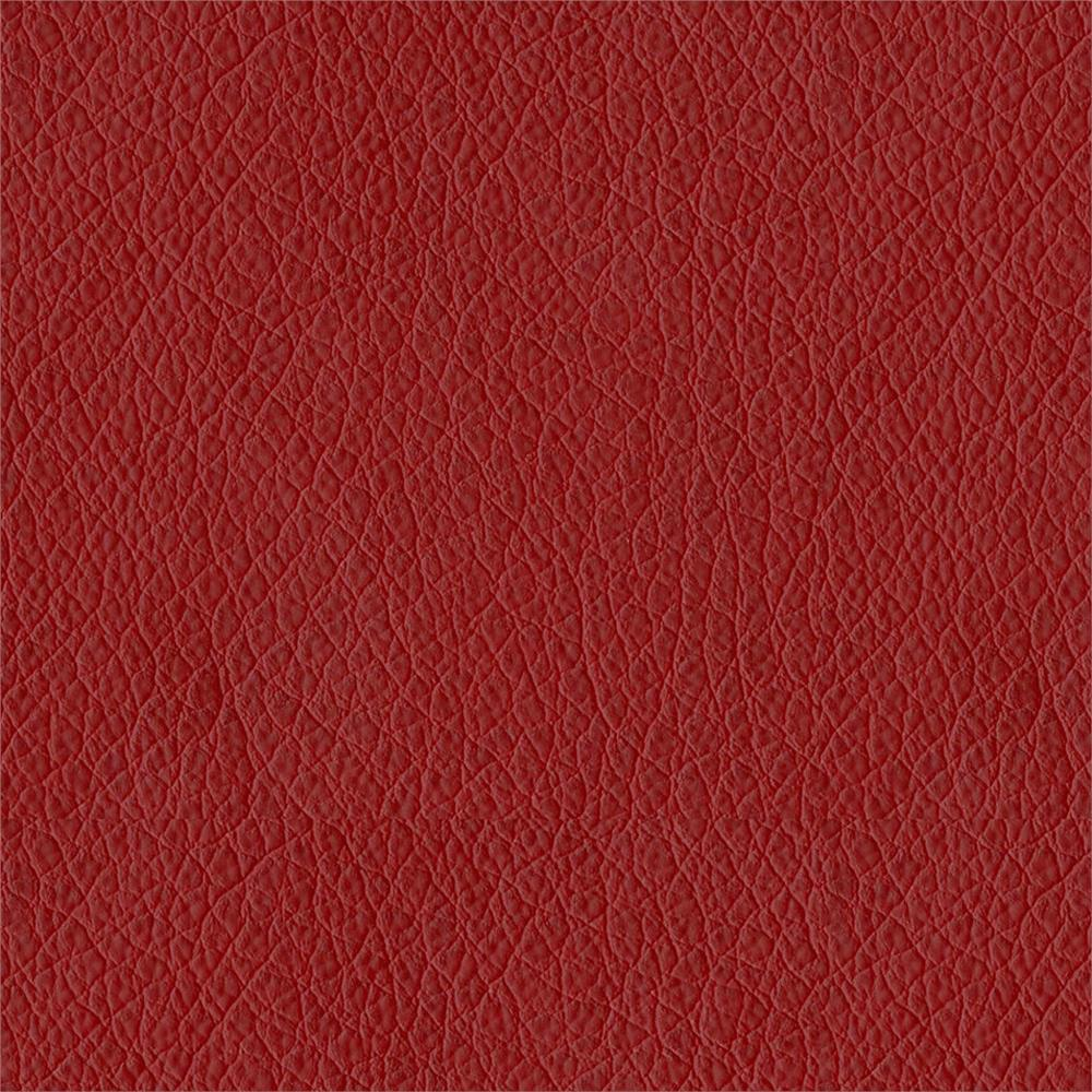 Abbeyshea Oklahoma Faux Leather Red Discount Designer Fabric