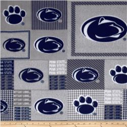 Collegiate Fleece Penn State University Blocks Blue/Gray