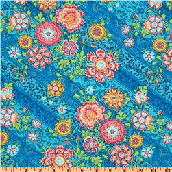 Amy Butler Lark Dreamer Heirloom Blue Sky Fabric