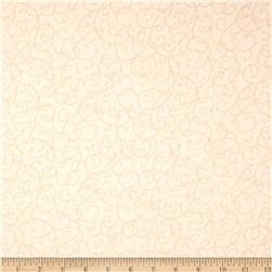 "Good Measure 2 114"" Wide Back Swirl Ecru"