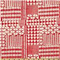 Bali Batik Triangles Peppermint Pink