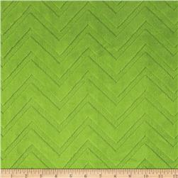 Minky Cuddle Embossed Chevron Jade