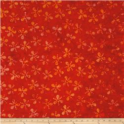 Island Batik Lavish Seeds & Dots Orange