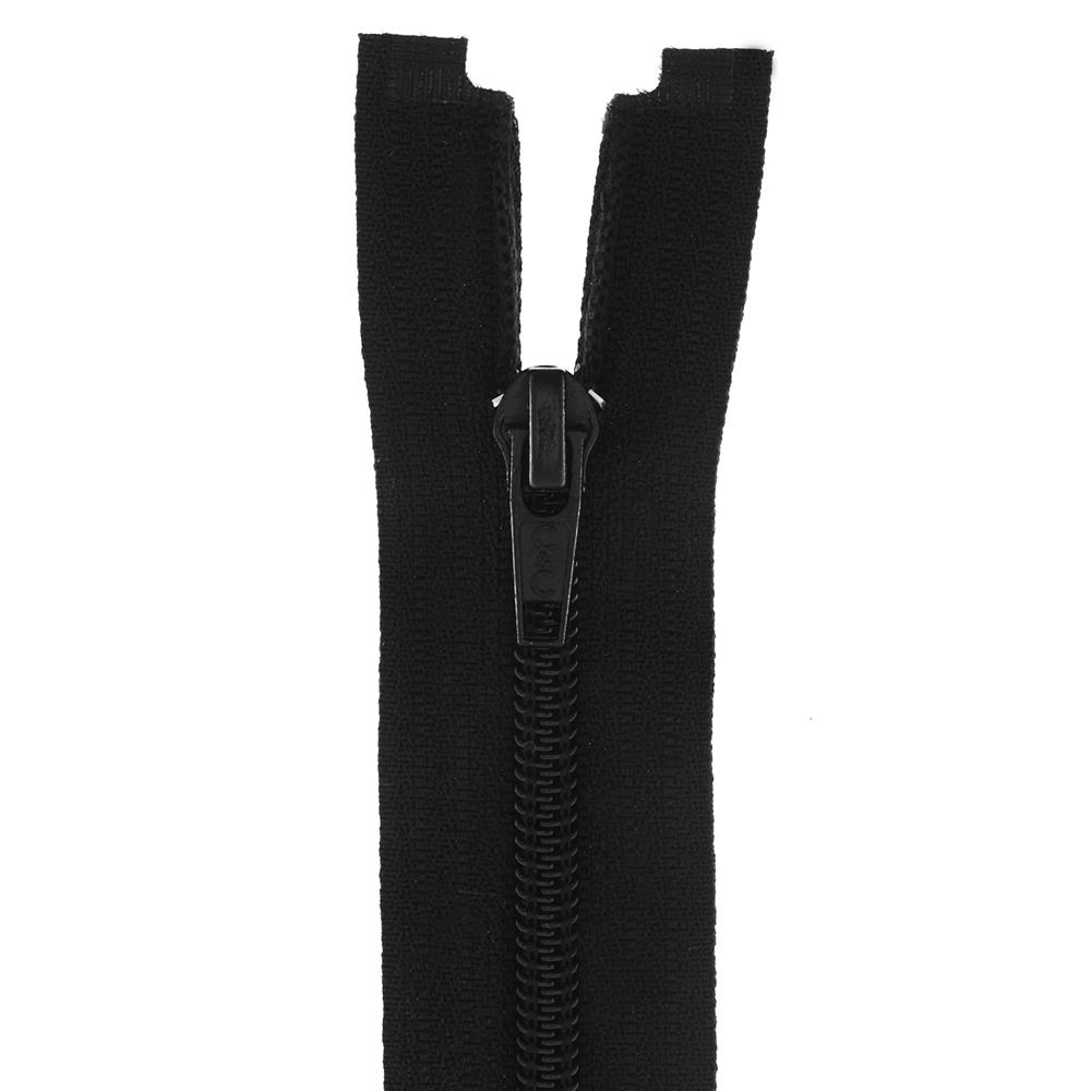Coats & Clark Coil Separating Zipper 22'' Black