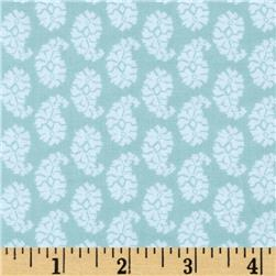 Joyful Leaf Paisley Teal