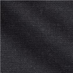 Wool Suiting Texture Charcoal