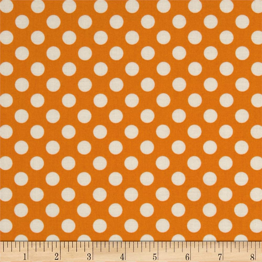 Polka Dot Orange