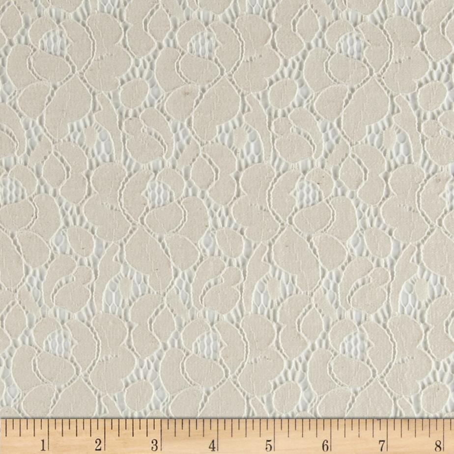 Southern Cotton Lace Petals Ivory