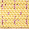 Heather Ross Mendocino Sea Horses Cream-Yellow