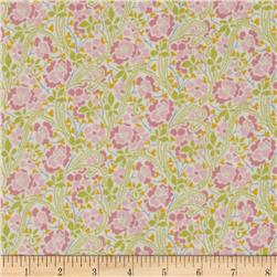 Liberty Lifestyle Stile Collection Herbert Green/Pink