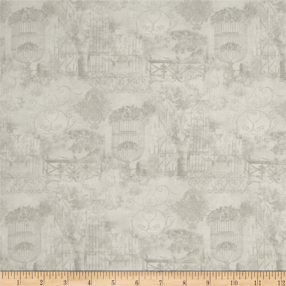 A Walk In The Park Toile Grey