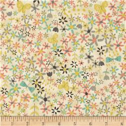 Bloom Butterflies & Ditsy Floral Cream