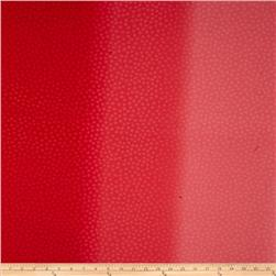 Moda Marble Ombre Dots Red Fabric