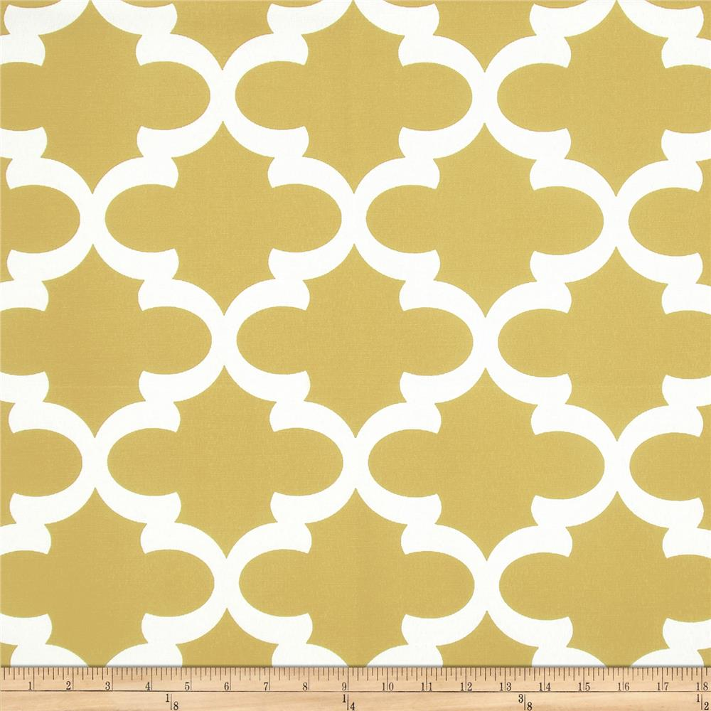 Premier Prints Fynn Macon Saffron Yellow