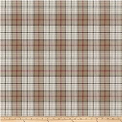 Fabricut Puran Plaid Brick