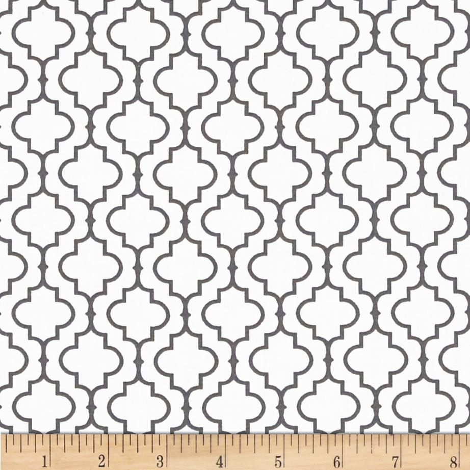 Kaufman Metro 108 In. Wide Back Tile Grey