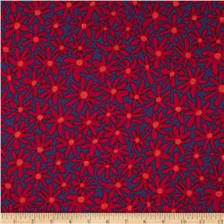 Kaffe Fassett Collective Daisy Chain Purple