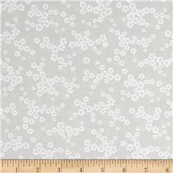 Cream & Sugar Cluster Daisy Gray
