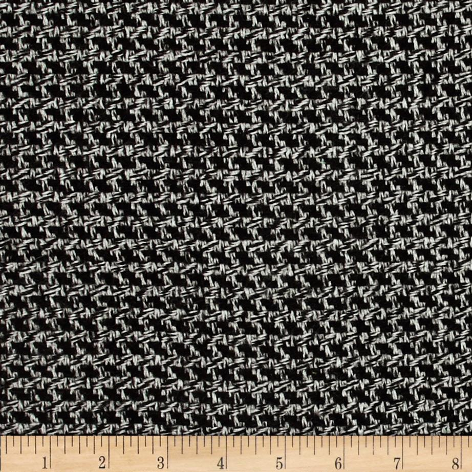 Wool Blend Coating Grey/Black