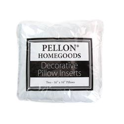 "Pellon Home Goods Twin Pack Pillow 16"" x 16"""