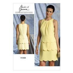 Vogue Misses' Dress Pattern V1398 Size A50