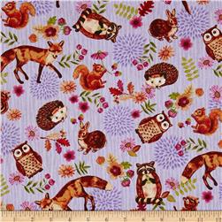 Jennifer Brinley Enchanted Forest Character Allover Lilac