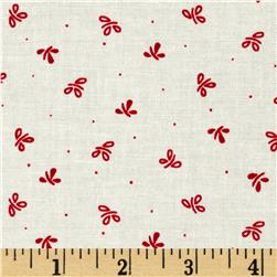 Mary Fons Small Wonders France Ditsy Red