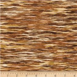 North American Wildlife 3 Landscape Texture Earth Fabric